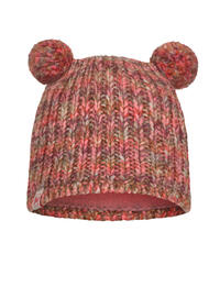 Child Knitted & Fleece Hat - Lera Flamingo Pink