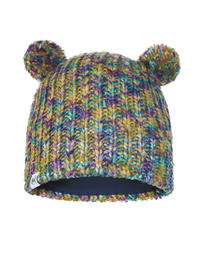 Child Knitted & Fleece Hat - Lera Turquoise