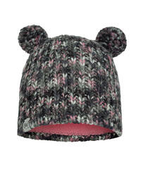 Child Knitted & Fleece Hat - Lera Castlerock Grey