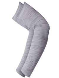 UV+ Arm Sleeves R-Light Grey Heather (Set of 2)