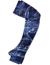 UV+ Coastal Arm Sleeves Mossy Oak Elements Navy (Set of 2)