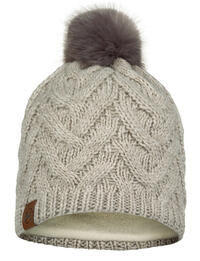 Knitted & Fleece Hat Caryn Cru