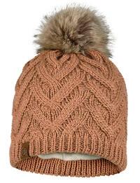 Knitted & Fleece Beanie Caryn Rosewood
