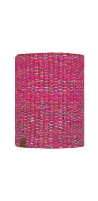 Knitted & Fleece Neckwarmer - Grete Pink