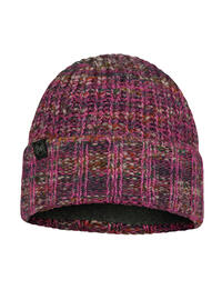 Knitted & Fleece Hat - Sabine Pink