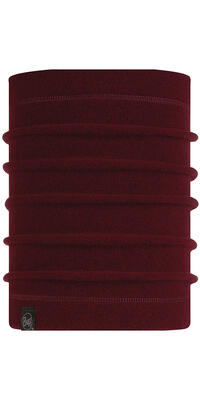 Polar Neckwarmer - Maroon Heather