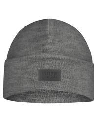 Merino Wool Fleece Hat - Grey