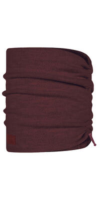 Merino Wool Fleece Neckwarmer Maroon