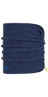 Merino Wool Fleece Neckwarmer Olympian Blue