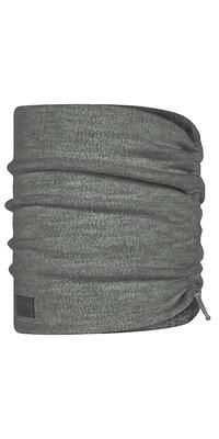 Merino Wool Fleece Neckwarmer - Grey