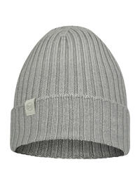 Merino Wool Knitted Hat Norval Light Grey