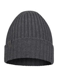 Merino Wool Knitted Hat Norval Grey