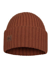 Merino Wool Knitted Hat - Ervin Rusty