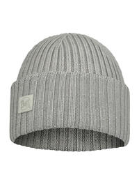 Merino Wool Knitted Hat - Ervin Light Grey