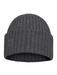 Merino Wool Knitted Hat Ervin Grey