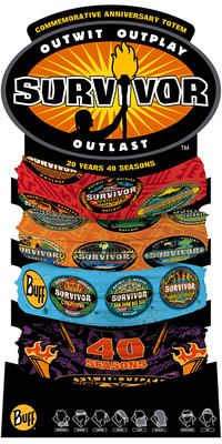 Original Survivor - Commemorative 20 Years 40 Seasons Anniversary Totem