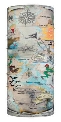 Junior CoolNet UV+ Insect Shield - Treasure Map