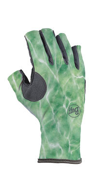 Pro Series Angler 3 Gloves Bug Slinger - BS Water Camo Green