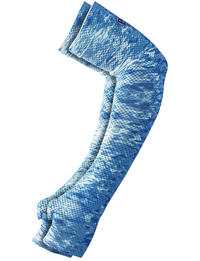 UV Coastal Arm Sleeves - Pelagic Camo Blue (set of 2)