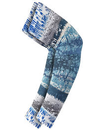 UV Arm Sleeves - Aqua Glitch (set of 2)