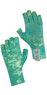 Aqua Gloves - Pelagic Camo Green