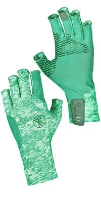 Aqua Glove Camo Green