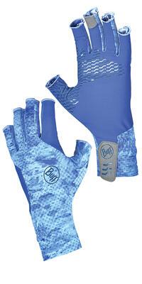 Aqua Glove Camo Blue