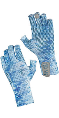 Aqua Gloves - Pelagic Camo Blue