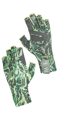 Eclipse Gloves Reflection Green