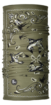 UV Buff Black Fly - BF Brown & Rainbow Trout Olive