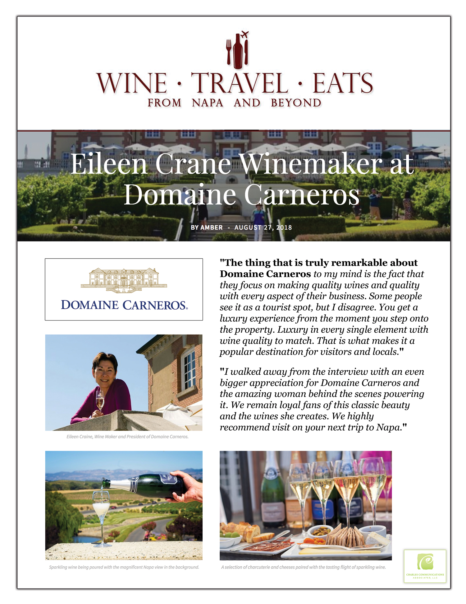 Wine Travel Eats