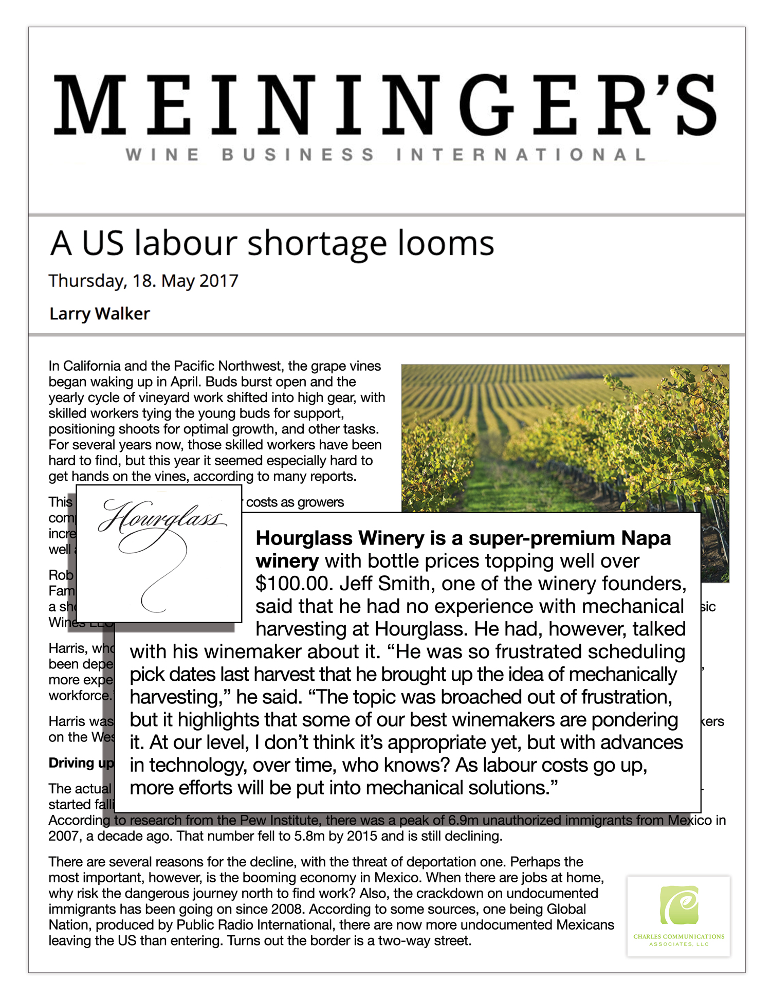 Meininger's Wine Business Monthly