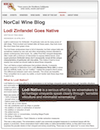 NorCal Wine Blog