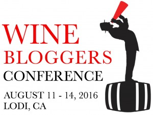 2016 Wine Bloggers Conference in Lodi: New Programming Announced