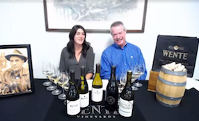 Wente Vineyards Chardonnay Day, May 2018