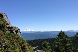 Larch Mountain Crater Loop, OR