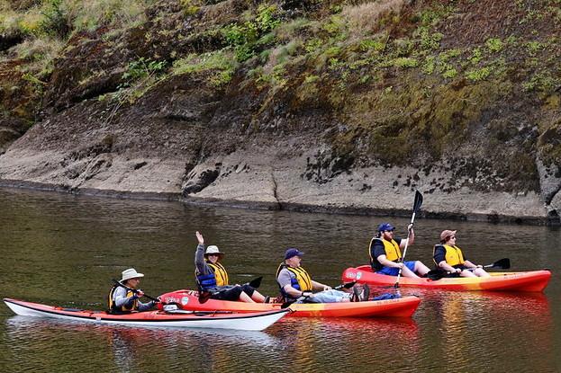 Beacon Rock Kayak Tour, WA