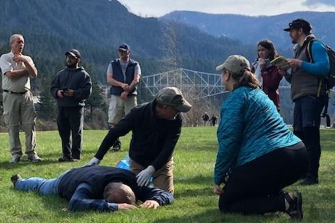 Wilderness First Aid Training (WFA)