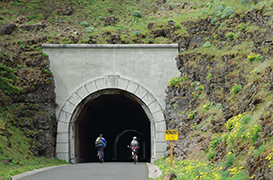 HCRH State Trail to Rowena Crest Bike Ride, OR