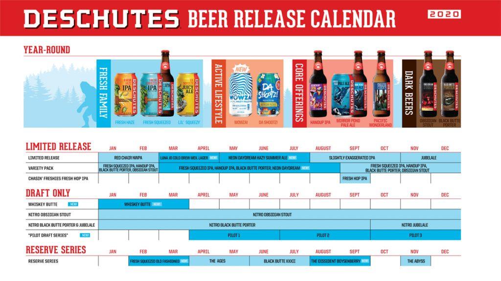 2020 Beer Calendar