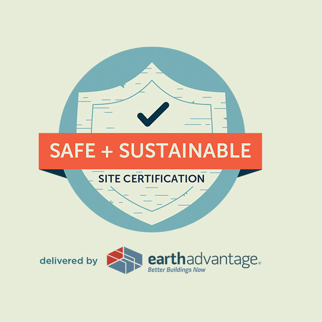 Safe + Sustainable Site Certification