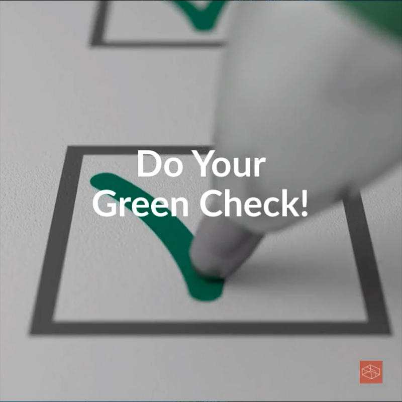 Do Your Green Check