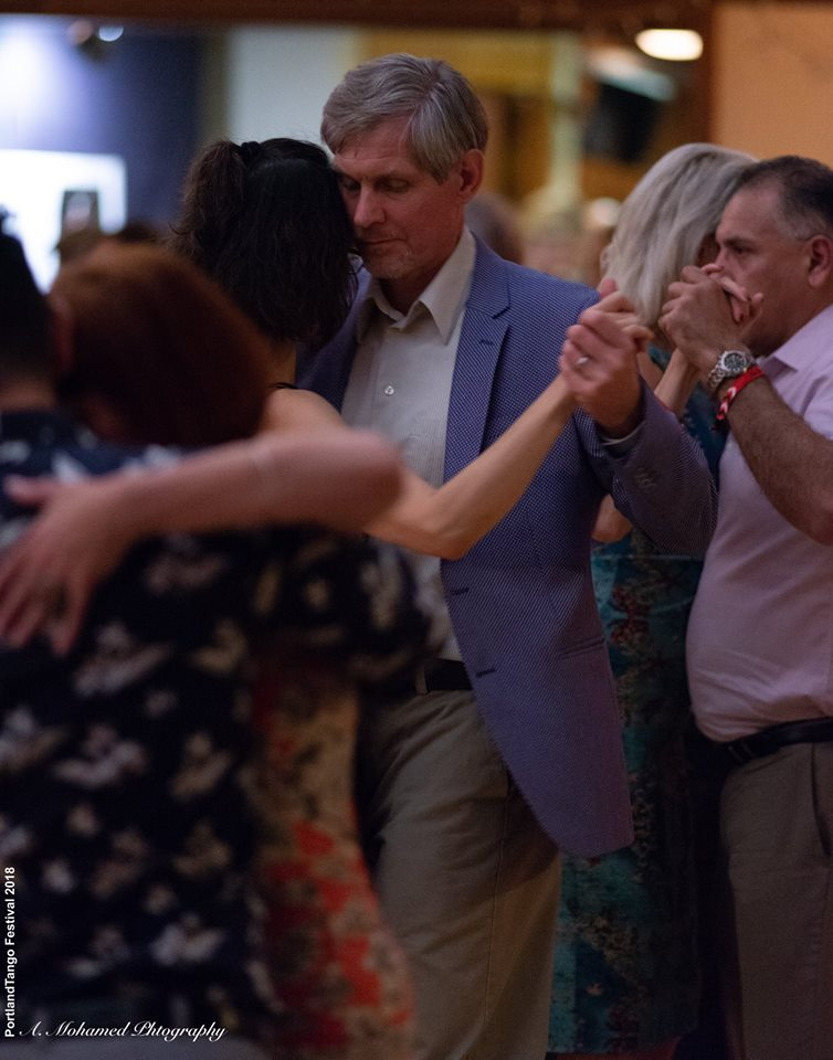 Peter and wife doing tango