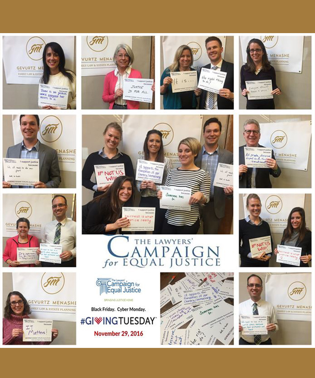 Showing Our #GivingTuesday and #unselfie support for #CEJOregon