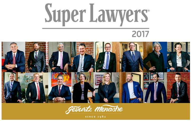 Congratulations to our 16 Oregon Super Lawyers & 3 Rising Starts!
