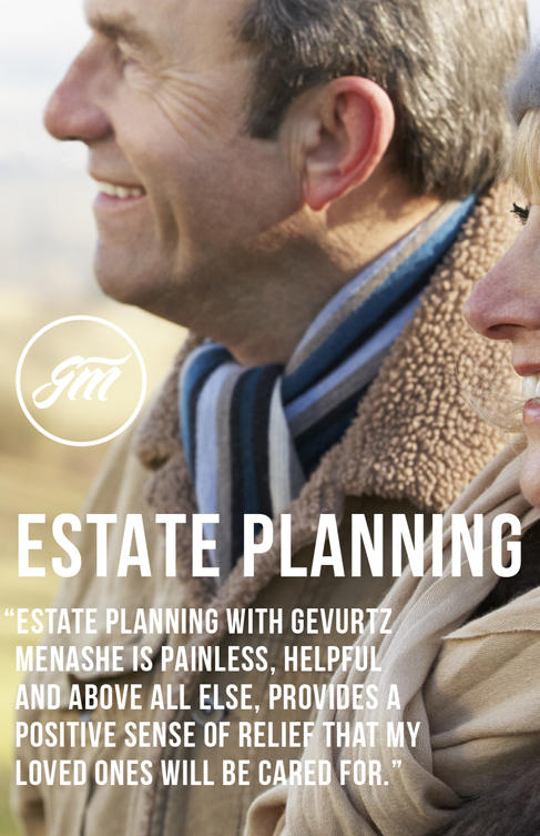 Gevurtz Menashe Estate Planning