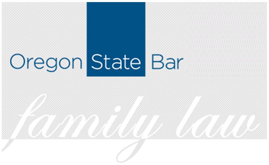 Oregon State Bar family law