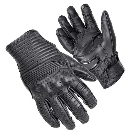 """""""The Bully"""" Short Cuff Leather Gloves 2"""
