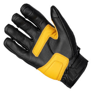 """The Scrapper"" Short Cuff Men's Leather Gloves 5 Thumbnail"