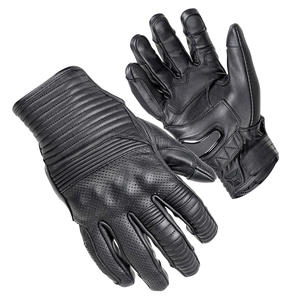 """""""The Bully"""" Short Cuff Leather Gloves 2 Thumbnail"""